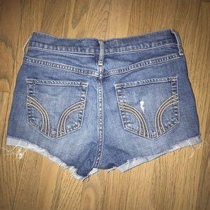 Hollister High Waist Cutoff Jean Shorts